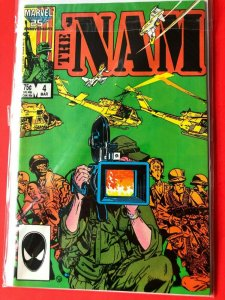 THE NAM V1 #4  1986 MARVEL 25 ANNIVERSARY  /  HIGH QUALITY