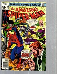Amazing Spider-Man # 170 NM Marvel Comic Book MJ Vulture Goblin Scorpion TJ1