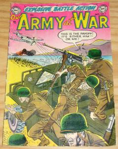 Our Army At War #3 VG october 1952 - golden age dc comics