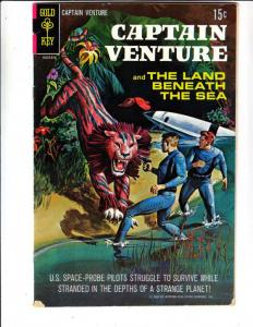 Captain Venture #1 (Oct-68) FN+ Mid-High-Grade Captain Venture