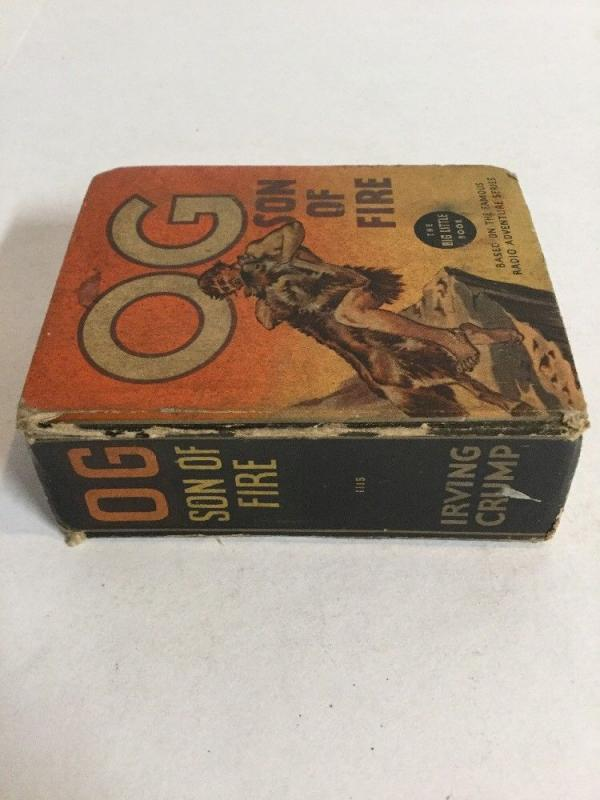 Og Son Of Fire Vg Very Good 4.0 Big Little Books 1115