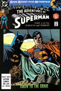 Adventures of Superman (1987 series) #467, Fine+ (Stock photo)