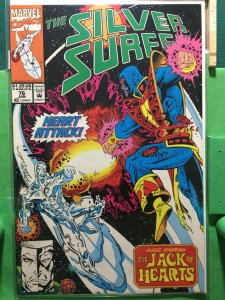 Silver Surfer #76 guest starring The Jack of Hearts