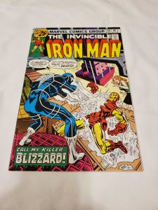 Iron Man 86 VF 1st apperance of Blizzard