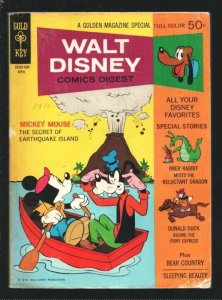 Walt Disney Comics Digest #21 1970-Uncle scrooge-Donald Duck-Tinker Bell-Brer...