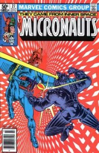 Micronauts #27 Marvel 1981 4.0 VG (Stock Photo)