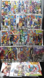 CABLE COLLECTION!60 issues! X-MEN from the future do some killing! FINE/+