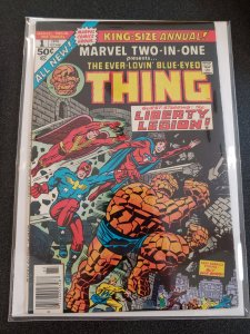 MARVEL TWO-IN-ONE ANNUAL #1 LIBERTY LEGION  VF