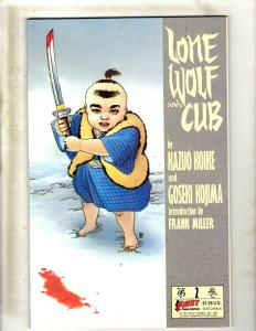 Lot of 10 Lone Wolf and Cub First Comic Books #2 3 4 5 6 7 8 9 10 11 JF20