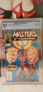 Masters of the Universe #1 CBCS 8.5 VF+ 1986 Marvel/Star Skeletor He-Man