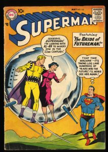 Superman #121 VG 4.0 DC Comics