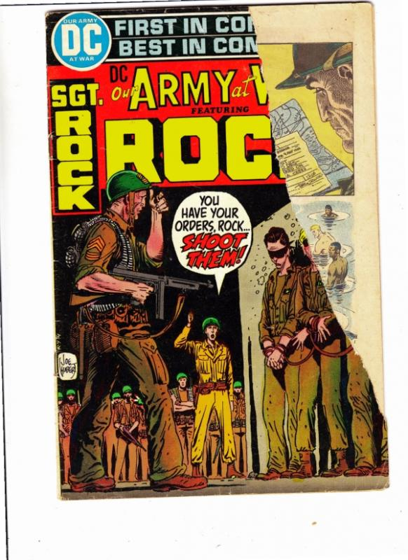 Our Army at War #248 (Aug-72) FR/GD Low-Grade Easy Company