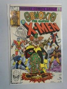 Obnoxio the Clown vs. the X-Men #1 Direct edition 7.0 FN VF (1983)