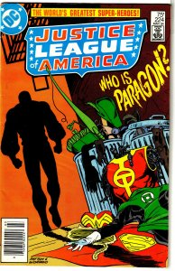 Justice League of America   vol. 1   #224 GD/VG Busiek/Patton, Paragon