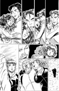 ROB DURHAM original CAVEWOMAN published art, The Hunt #2, Pg 23, 11x17