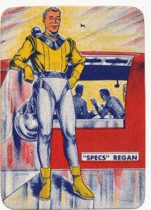 Skelly All American Space Fleet Specs Regan Card, Excellent Condition