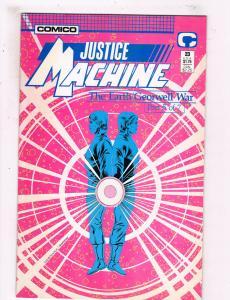 Justice Machine #23 NM Comico Comics Comic Book 1988 DE25