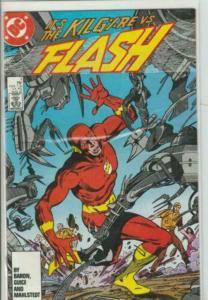 Flash (Vol 2) # 3 - NM/NM+ 1ST APP KILGORE - DC Comics COPPER AGE
