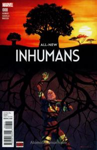 All-New Inhumans #8 VF/NM; Marvel | save on shipping - details inside
