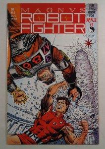 Magnus Robot Fighter #5 1st Full Appearance Rai Valiant 1991