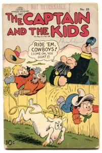 Captain and the Kids #23 1951- Golden Age comic VG