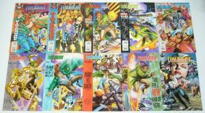 Timewalker #0 & 1-15 VF/NM complete series + yearbook - valiant comics set lot