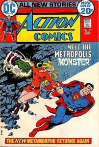 Action Comics #415 (ungraded) stock photo / ID#00E