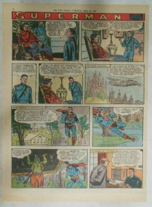 Superman Sunday Page #912 by Wayne Boring from 4/21/1957 Size ~11 x 15 inches