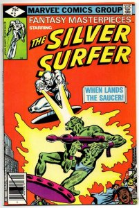 FANTASY MASTERPIECES #2, NM-, Silver Surfer, 1979 1980, Buscema, Sinnott, Marvel