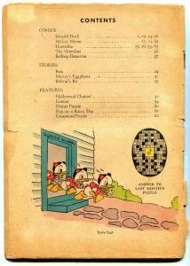 Walt Disney's Comics and Stories #57 1945-  incomplete