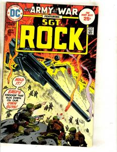 Lot Of 6 Our Army At War DC Comic Books Sgt. Rock # 277 279 281 283 285 287 FM1