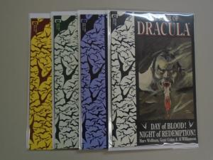 Tomb of Dracula set #1 to #4 - Third 3rd Series - NM - 1991