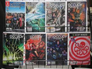 Occupy Avengers (Marvel 2016) #1-7, 9 Hawkeye Travels the US
