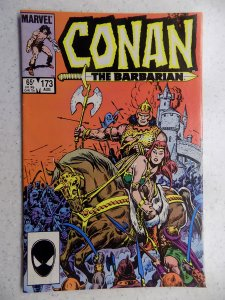 CONAN THE BARBARIAN # 173 MARVEL SAVAGE SWORD FANTASY