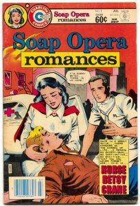 Soap Opera Romances #1 1982- Charlton- Nurse Betsy Crane VF-