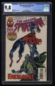 Amazing Spider-Man #412 CGC NM/M 9.8 White Pages