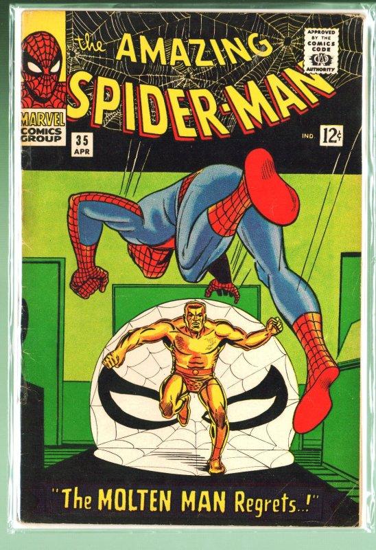 The Amazing Spider-Man #35 (1966)