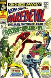 Marvel Comics King-Size Annual Daredevil #1 VG Electro 1st Emissaries of Evil