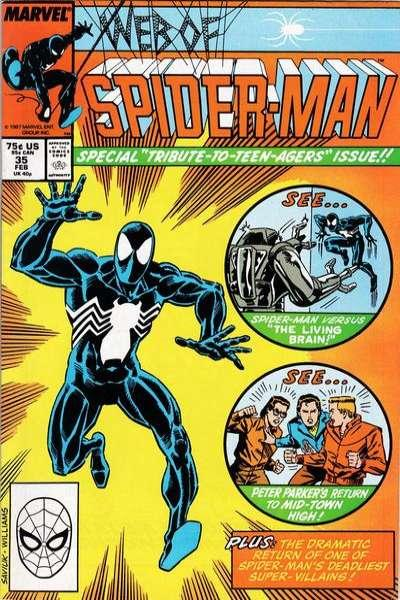 Web of Spider-Man (1985 series) #35, NM- (Stock photo)