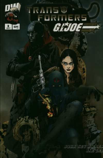 Transformers/G.I. Joe #3, NM + (Stock photo)