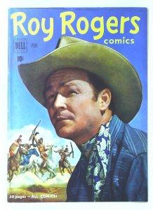 Roy Rogers Comics (1948 series) #38, Fine+ (Actual scan)