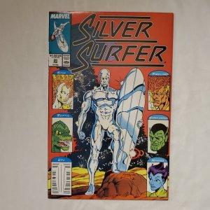 Silver Surfer 20 Very Fine/Near Mint Art by Joe Rubinstein