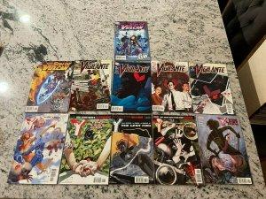 11 Comics Y Last Man 36 37 38 39 40 + Vigilante 1 2 3 4 + Son Of Vulcan 1 2 J601