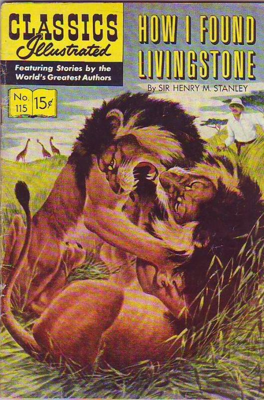 Classics Illustrated #115 (Jan-54) VG/FN Mid-Grade