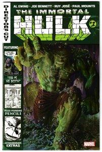 Immortal Hulk #1 Director's Cut (Marvel, 2019) NM