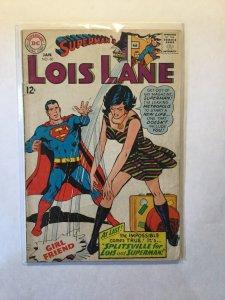 Superman's Girl Friend Lois Lane 80 Very Good Vg 4.0 Dc Comics