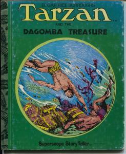 Tarzan Book ST-39-The Dagomba Treasure-Burne Hogarth art-hardback-G
