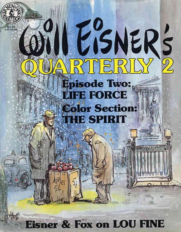 Will Eisner's Quarterly #2 FN; Kitchen Sink | save on shipping - details inside