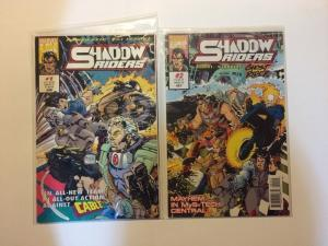 Shadow Riders 1-4 Near Mint Lot Set Run Cable