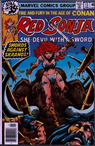 Red Sonja #13 ( 1st Series ) - 8.0 or Better